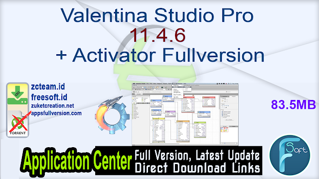 Valentina Studio Pro 11.4.6 + Activator Fullversion