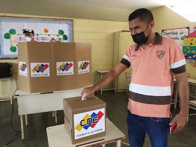 ¡CONCURRIDO! CAROREÑOS PARTICIPARON MASIVAMENTE EN EL SIMULACRO ELECTORAL 2021