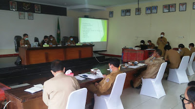KPK Monitoring Centre for Prevention di Toba