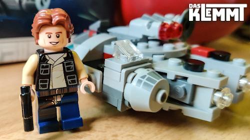 Han Solo mit lächelndem Gesicht - www.dasklemmt.de