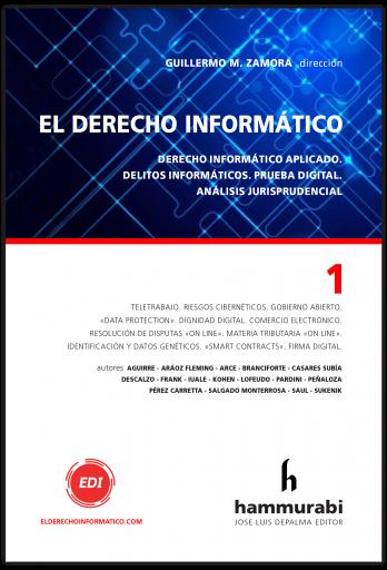 """Libro """"El derecho informático"""" vol. 1 (Guillermo Zamora)"""