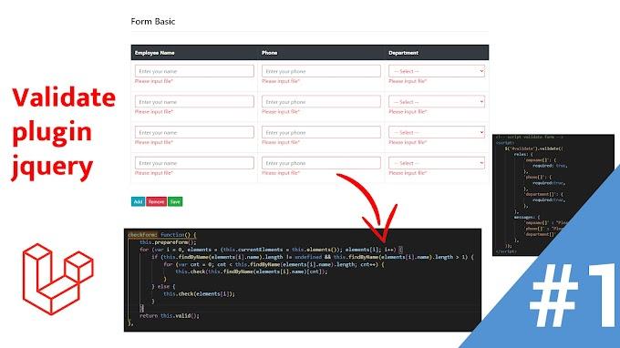 Form basic input Laravel 8 CRUD