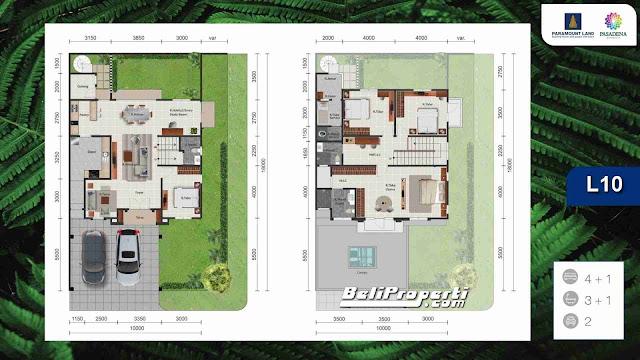 rumah dijual di pasadena residence
