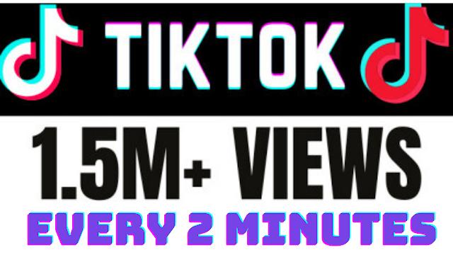 Get 1000 views on TikTok every 2 Minutes.