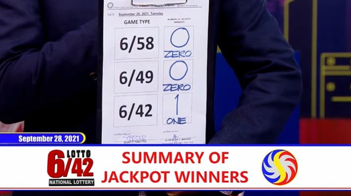 Lone bettor wins Php 36.8-M Lotto 6/42 jackpot