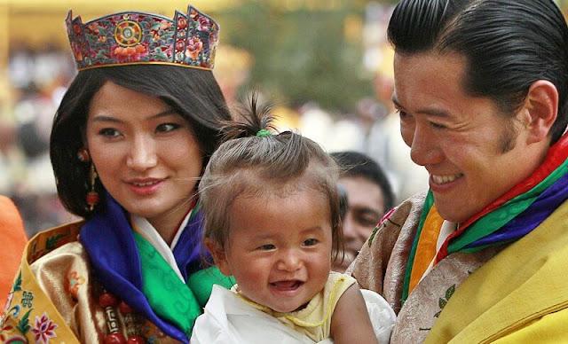 King Jigme Khesar Namgyel Wangchuck and Queen Jetsun Pema celebrated their tenth wedding anniversary