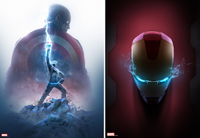 New York Comic Con 2021 Exclusive The Avengers Prints by BossLogic x Bottleneck Gallery
