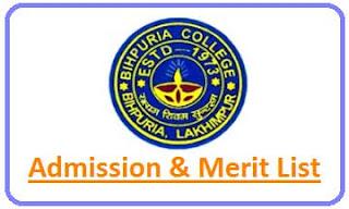 Bihpuria College Merit List