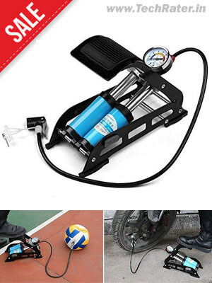 Portable Air Pump Tyre Inflator for Car, Bike, Toys