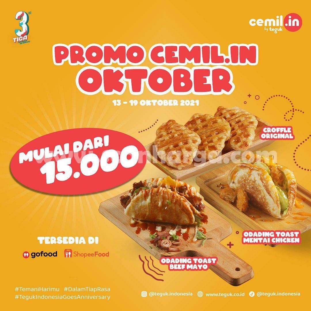 Promo TEGUK 13 - 19 Oktober 2021, Paket CEMIL-IN Harga mulai Rp. 15.000