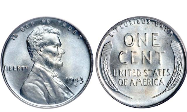 1943 silver penny value