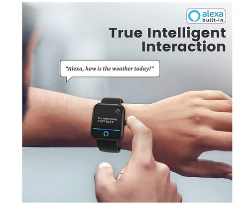 AOKESI Real 1 2021 Smart Watch with Alexa Built-in