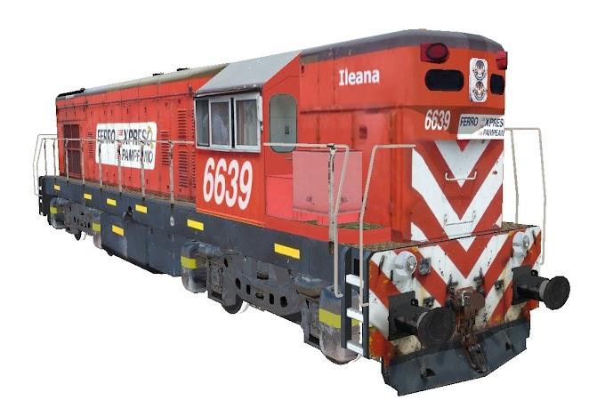 EMD G12 6639 - FerroExpreso Pampeano
