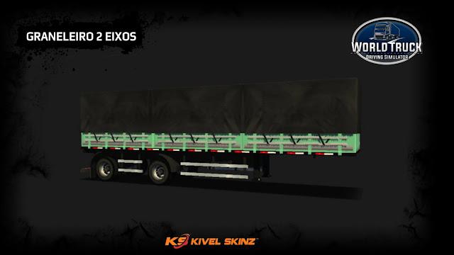 GRANELEIRO 2 EIXOS - VERDE