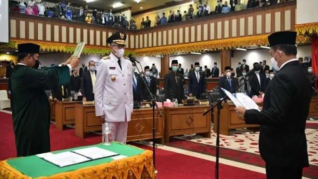 Gubernur Aceh Patah Tulang Akibat Kecelakaan saat Olahraga