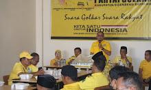 HUT Partai Golkar Ke-57, DPD Golkar Sidrap Siap Menangkan Airlangga Hartarto
