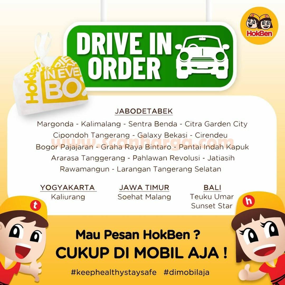HOKBEN Promo GRATIS Teh Botol Sosro via Drive In Order 2