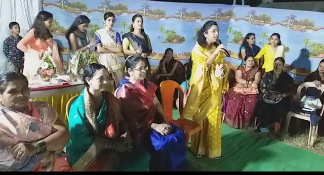 माजी नगरसेविका सौ.शारदाताई कुंभार यांनी महिलांना चांगले व्यासपीठ उपलब्ध केले; सौ.मिनलदिदी सावंत-पाटील