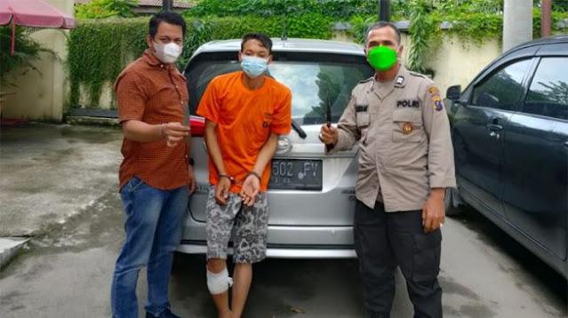 Perampok di Sumut Ditangkap, Modus Jadi Penumpang Taksi Online