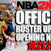 NBA 2K22 OFFICIAL ROSTER UPDATE 10.21.21 - MASSIVE UPDATES! LINEUPS CHANGED AND LATEST TRANSACTIONS - ADDED ALL ROOKIES