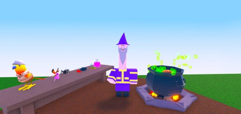 All potions and recipes in Roblox Wacky Wizards