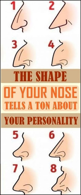 Here's What The Shape Of The Nose Says About Your Character