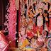महामंडलेश्वर कनकेश्वरी नंदगिरी ने किया मां दुर्गा की प्रतिमा का पट खोला कर अनावरण