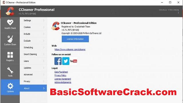 download ccleaner pro full crack 2021