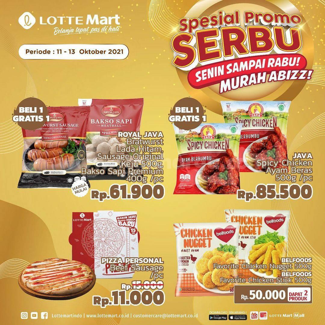 Promo LOTTEMART Spesial Serbu (Senin sampai Rabu) 11 - 13 Oktober 2021