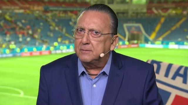 """Em áudio vazado, Galvão chamado Neymar de """"idiota"""""""