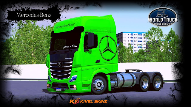 NEW ACTROS - GREEN EDITION
