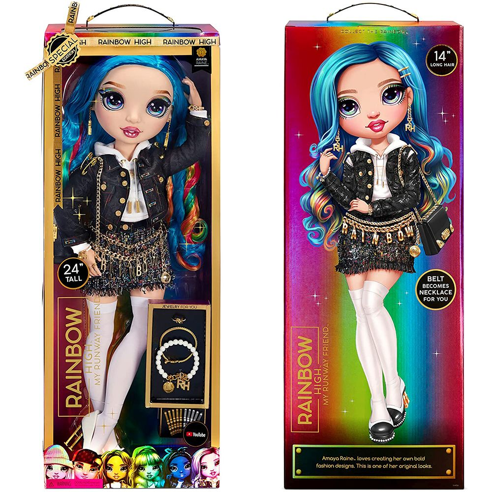 Большая кукла Rainbow High Amaya Raine