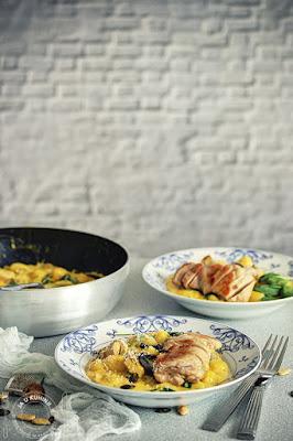 Piletina sa njokama u sosu od bundeve