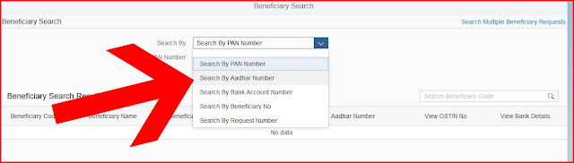 CFMS BENEFICIARY CODE SEARCH LINK WITHOUT LOGIN