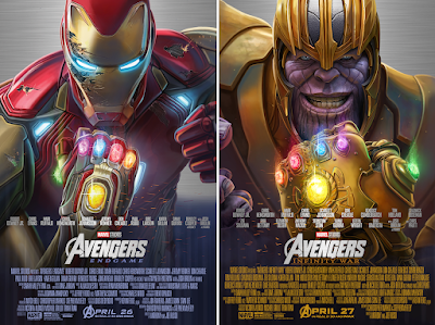 New York Comic Con 2021 Exclusive Avengers Infinity War & Avengers Endgame Prints by Pablo Olivera x Bottleneck Gallery