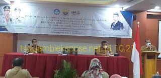 Asisten I Bidang Pemerintahan Secara Resmi Membuka Pendidikan Dan Pelatihan Peningkatan Kompetensi Guru TIK SMK