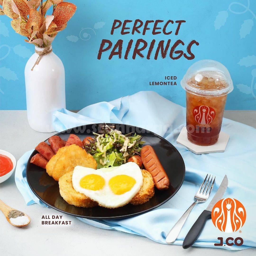 Promo JCO 11-17 Oktober 2021 Gratis Iced Lemon Tea