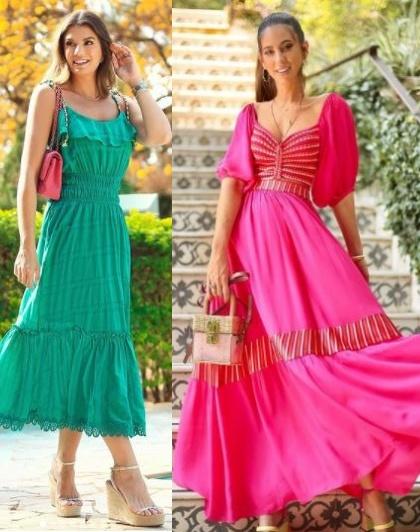 Combinações de cores para looks estilosos, Ariane Canovas, Luiza Sobral