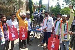 महाराष्ट्रात एकही केंद्रीय मंत्रीला घुसू देणार नाही, पेट्रोल डिझेल वाढीवर राष्ट्रवादी काँग्रेसचा आंदोलन