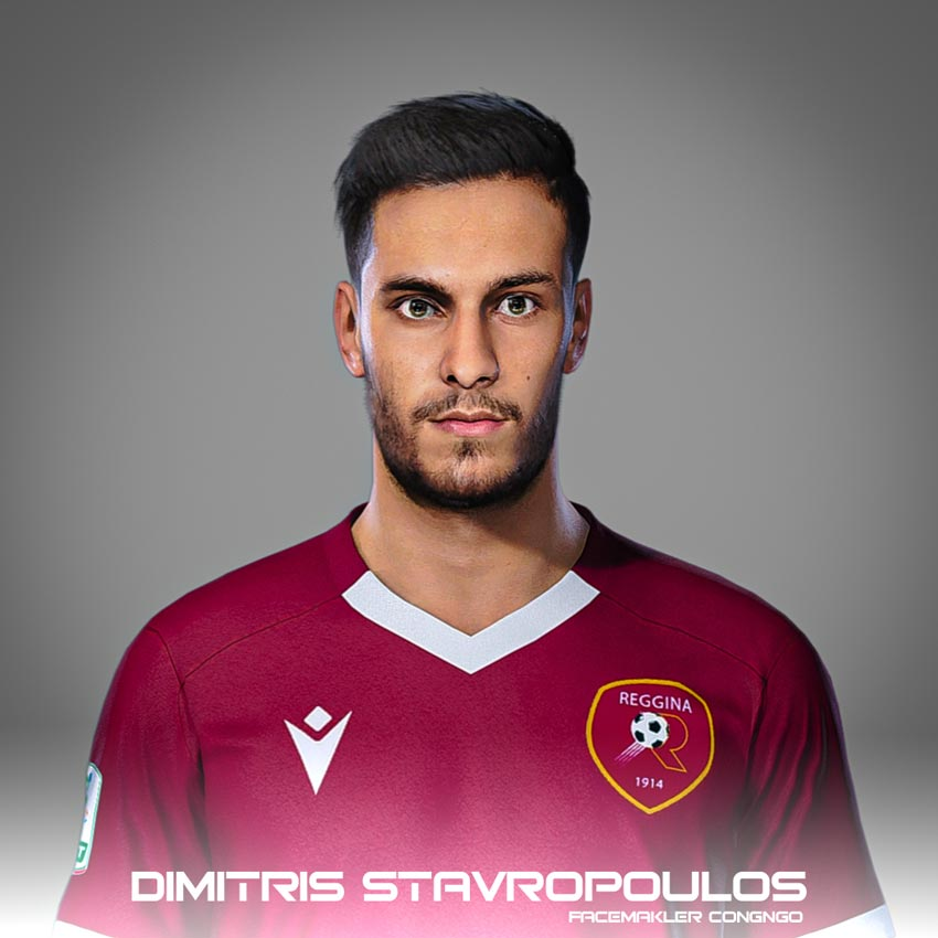 Dimitris Stavropoulos Face For eFootball PES 2021