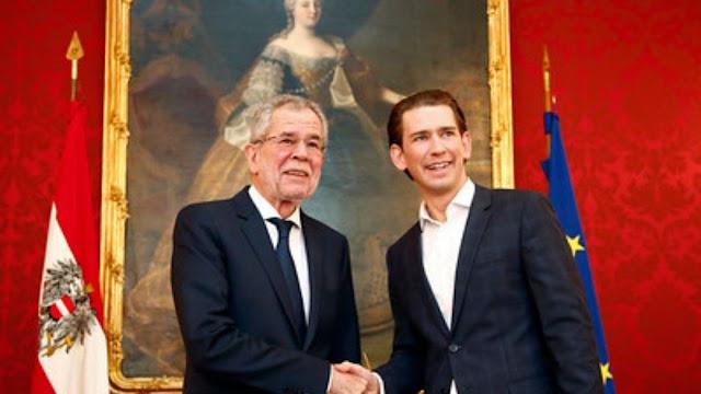 رئيس,النمسا,يشكر,المستشار,المستقيل