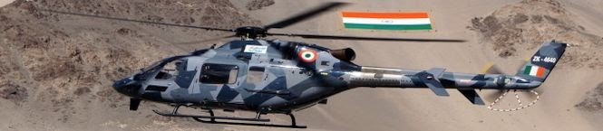 India's Light Utility Helicopter In Ladakh For FINAL Trials