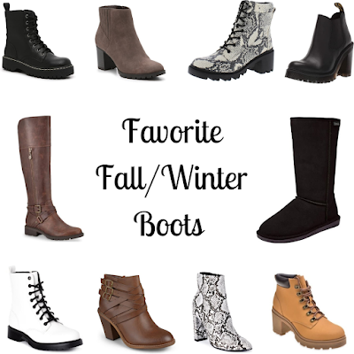 Favorite Fall/Winter Boots