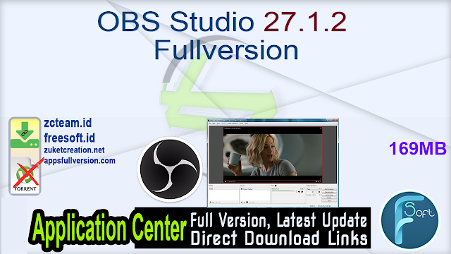 OBS Studio 27.1.2 Fullversion