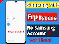 Remove FRP Bypass Samsung M02 SM-M022G Via Samfirm 100% Sukses