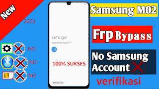 FRP Bypass Samsung M02 SM-M022G Via Samfirm