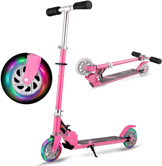 2 Wheel Foldable Scooter with Kickstand
