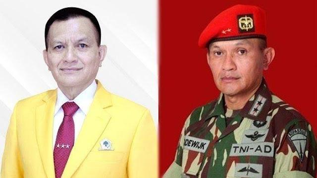 Eks Danjen Kopassus Lodewijk Paulus Resmi Ditunjuk Airlangga sebagai Wakil Ketua DPR