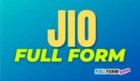 JIO Full Form in Hindi - JIO का फुल फॉर्म क्या है