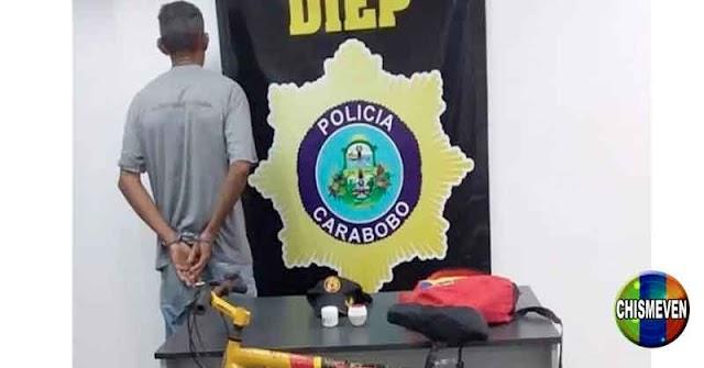 CON MORRAL CHAVISTA   Detienen a El Monstruo de Puerto Cabello por abuso de niños